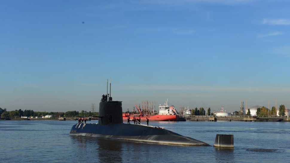 """ARA San Juan: la Armada afirma que hubo un """"error"""" y que el submarino no operaba cerca de Malvinas"""