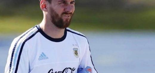 Fútbol: Messi se sumará hoy a la Selección Argentina instalada en Manchester