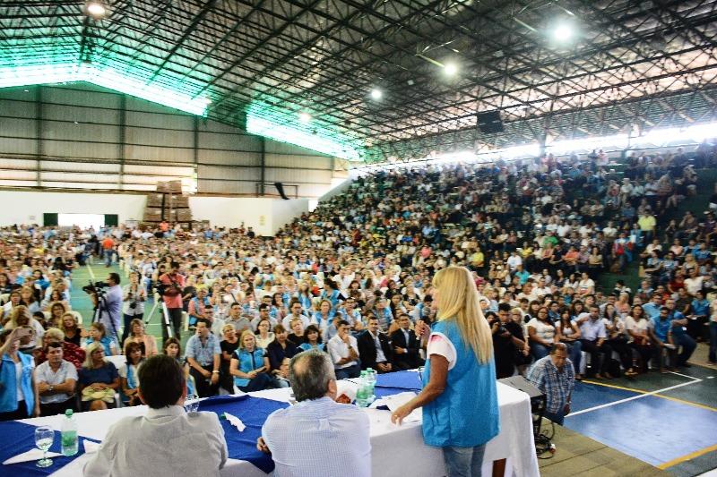 Más 5000 asistentes participaron de la tercera jornada de «Actualización Académica en Sindicalismo, Política y Pedagogía» que organizó la UDPM