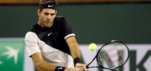 Indian Wells: Juan Martín del Potro eliminó a Leonardo Mayer y está en cuartos de final