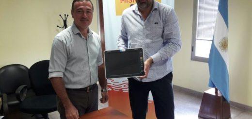El hospital Samic Oberá recibió equipo para el Servicio de Gastroenterología