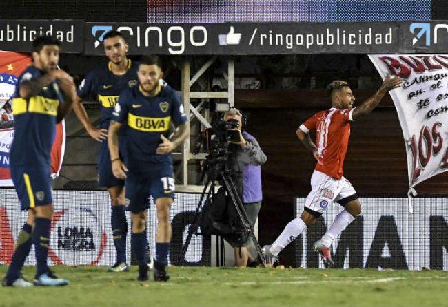 Vea los goles de la derrota de Boca ante Argentinos Juniors