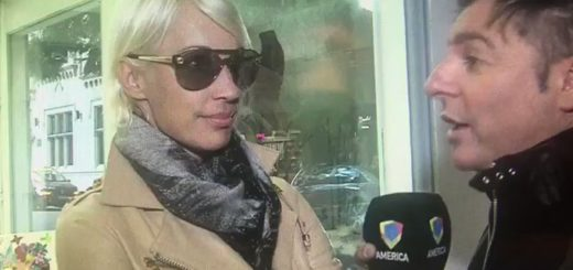 """Ingrid Grudke admitió que Cristóbal López fue a despedirse de sus padres  a Oberá y que """"cayó de sorpresa"""""""