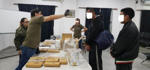 Mujeres detenidas por tráfico de marihuana en encomiendas que habían sido despachadas en Posadas