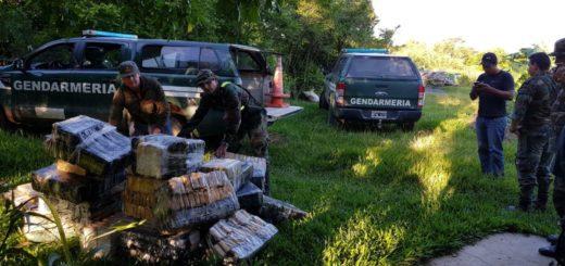 Itatí: otro gran golpe al narcotráfico, con el decomiso de 718 kilos de marihuana
