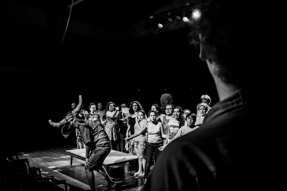 Oberá: La Murga del Monte suma interesados para participar del Teatro Comunitario