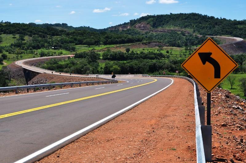 Concluyeron obras de señalamiento en la ruta provincial 8