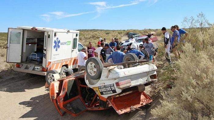 Falleció el piloto Saúl Maldonado luego de volcar en Río Negro durante el Rally