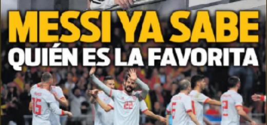 Papelón Mundial: Tras la aplastante goleada sufrida por Argentina, vea las tapas de los diarios deportivos españoles