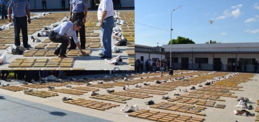 Decomisaron dos toneladas y media de marihuana en Corrientes capital: estaban ocultas en un camión repartidor