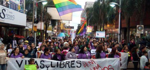 #8M- Travesticidio, femicidios y violencia laboral: algunas de las problemáticas que resuenan en Misiones