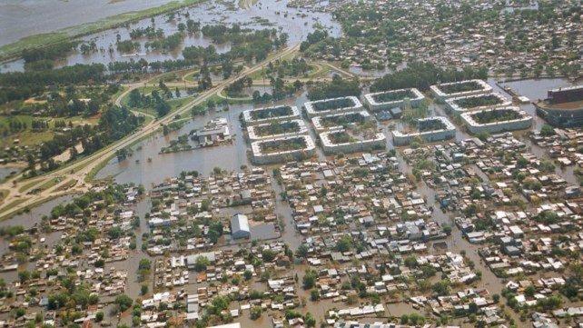 El Gobierno invertirá 476 millones de pesos en obras para mitigar inundaciones en Santa Fe