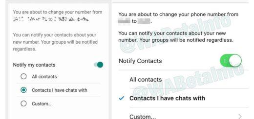 WhatsApp permitirá elegir a qué contactos avisar cuando cambies de número