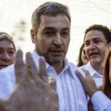 """El presidente electo de Paraguay Mario Abdo Benítez se comprometió este domingo a ser """"un factor de unión"""" tras la ajustada victoria lograda ayer"""