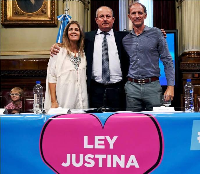 Donación de órganos: la familia de Justina Lo Cane, expuso en el Congreso que analiza una modificación a la ley vigente