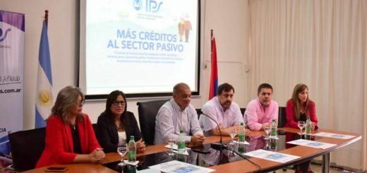 El IPS entregó 84 créditos a afiliados del sector pasivo de Posadas, Garupá y Candelaria