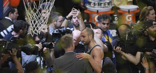 NBA: Golden State terminó con el sueño de San Antonio y de una función más de Manu Ginóbili