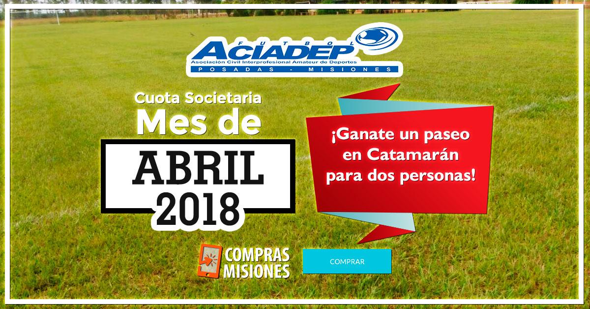 ACIADep: Enterate quién ganó el paseo en el Catamarán por abonar la cuota en Compras Misiones, mirá la fecha de hoy y pagá abril por Internet