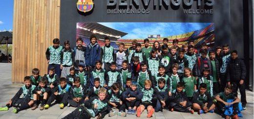 Sueño cumplido para los chicos del club Guacurarí que viajaron a Barcelona