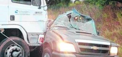 Entre Ríos: dos muertos en la ruta 12
