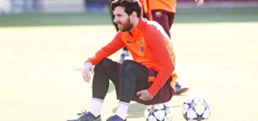 Lionel Messi no se entrenó hoy y los médicos le piden que no se exija tanto