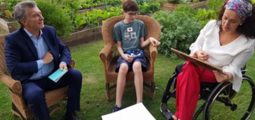 Un chico de 13 años con autismo le escribió una carta a Mauricio Macri para terminar con el hambre en el país