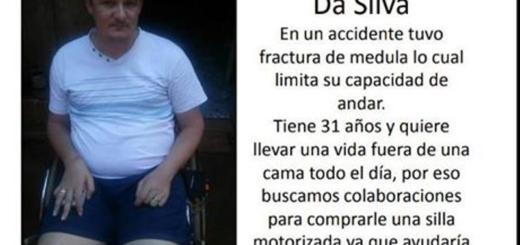 Todos por Ariel: no puede caminar y su familia lanzó una campaña solidaria para comprar una silla de ruedas motorizada