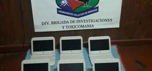 Recuperaron computadoras robadas a una escuela de Eldorado