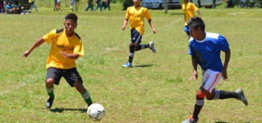 Encuentro deportivo entre Comunidades Mbya Guaraní