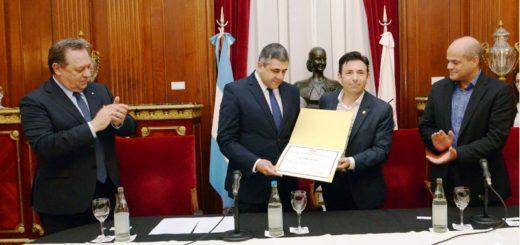 La Legislatura porteña reconoció al Secretario General de la Organización Mundial de Turismo