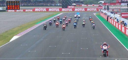 MotoGP: Crutchlow se llevó una carrera insólita y con un gran marco en Río Hondo