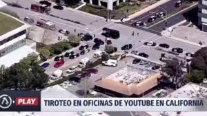 EEUU: un muerto y al menos cuatro heridos por tiroteo en el edificio de YouTube