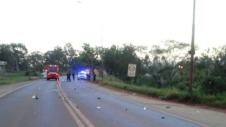 Siniestro vial dejó como saldo una víctima fatal en Oberá