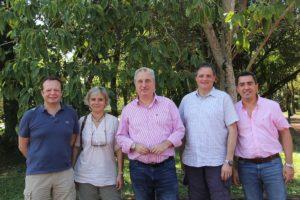 Passalacqua recibió a empresarios franceses que invertirán en la instalación de ecolodges de alta gama en Misiones