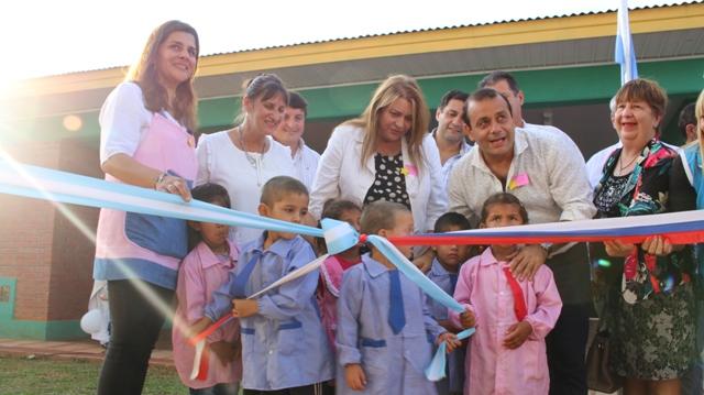 Campo Viera: Inauguraron el edificio del NENI 61
