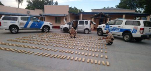 Itá Ibaté: atrapan a traficante con 277 kilos de marihuana cuando salía de la costa en un auto