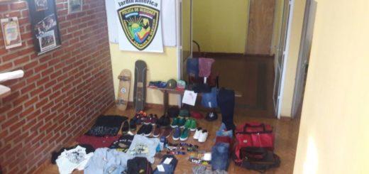 Jardín América: cae pandilla juvenil acusada de haber saqueado tres comercios en un mismo día