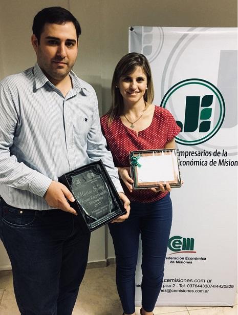 Matias Sebely se consagró como el Joven Empresario Misionero 2018