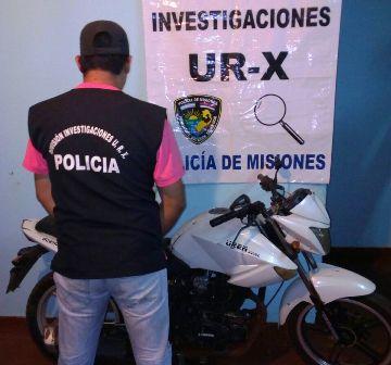 Dos motocicletas robadas fueron recuperadas en Posadas