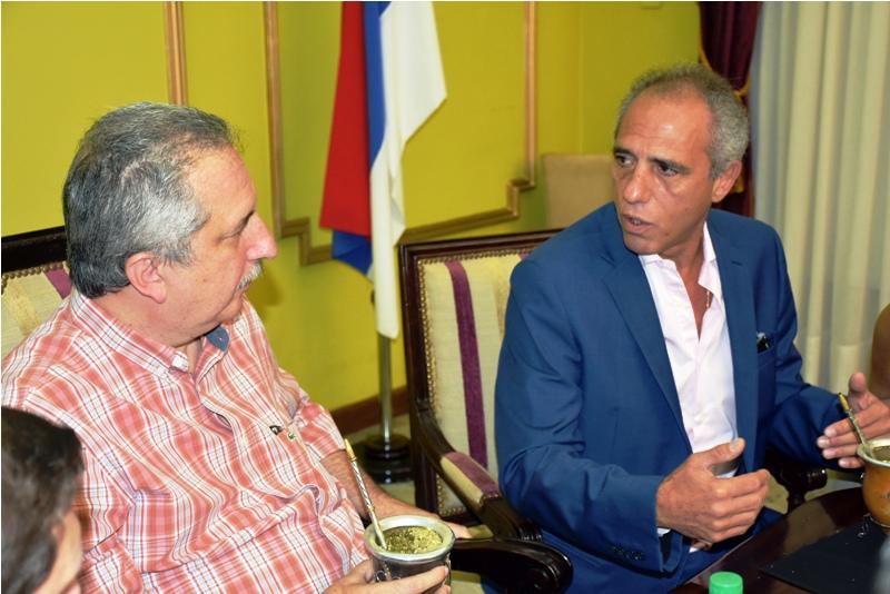 Passalacqua encabezó reunión de trabajo con representantes del BID y la Agencia Francesa para el Desarrollo