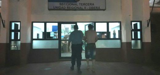 La Policía detuvo a un hombre acusado de amenazar de muerte a una mujer y sus hijos en Oberá