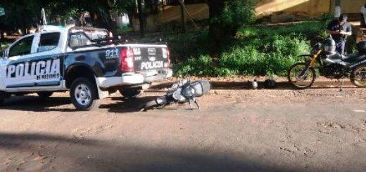 """Cayeron integrantes de una banda de """"motochorros"""" en Posadas: hay 5 detenidos"""