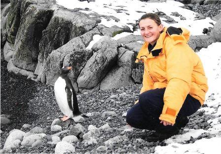 En el Centro Naval homenajearon a la submarinista misionera, Eliana Krawczyk