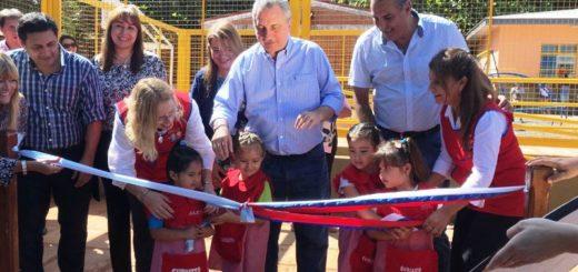 El Gobernador Passalacqua inauguró la Escuela N° 735 de Eldorado