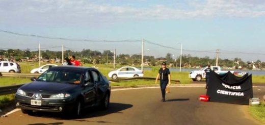 Siniestro vial dejó un fallecido esta mañana en Posadas