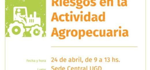 UGD dicta Seminario de Prevención de Riesgos en la Actividad Agropecuaria