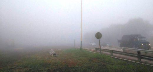 Alertan por bancos de niebla sobre la ruta 12