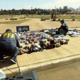 Interceptaron una carga de cosméticos contrabandeados en el límite entre Misiones y Corrientes