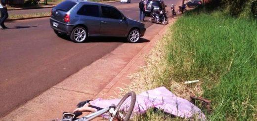 Identificaron al ciclista fallecido este mediodía en Posadas