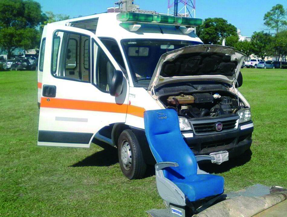 Interceptaron otra narco-ambulancia: esta vez fue en Corrientes